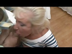 Gold Teeth Tow-haired Granny Fucked
