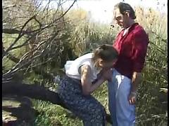 Older british woman outdoor