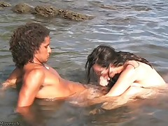 Nikki Fritz Hardcore BJ and Sex on Costa Rica beach