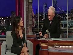 Salma Hayek - Letterman Show