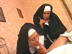 Two hardcore nuns