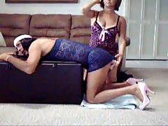 Sienna taking Mistresses cock
