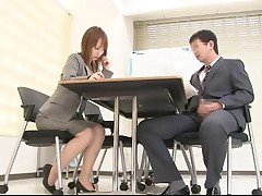 Sex in the office scene 3(censored)