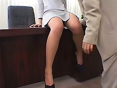 Pantyhose slot secretary gets nylon sex ruled
