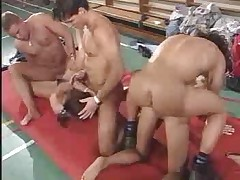School Gym Orgy apart from snahbrandy