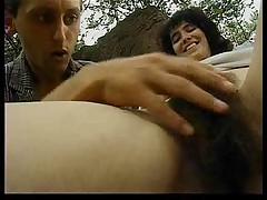 Mega Hairy German woman
