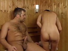 Sex in the sauna