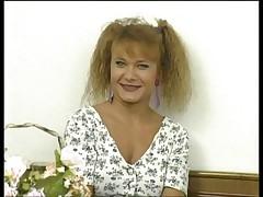 Casting hairy girl
