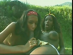 Black shemales outdoors
