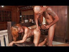Banging a tranny's big disastrous butt