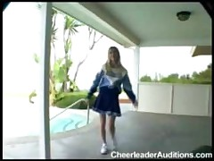 Teen Cheerleader Likes It Big!