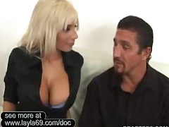 Big Titted Doctor Fucks The Living Daylights Out Of Her..