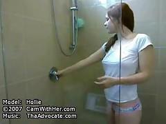 Shower porn tube