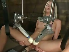 Blonde and Fucking machine