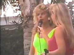 Julie Clarke - 1989 Venus Swimwear Contest