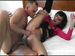 Hot amateur slut fist fucked into a screaming orgasm