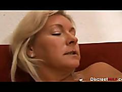 Hot Blonde Italian Mature