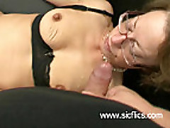 Brutally fist fucked amateur slut