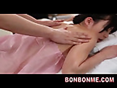 Mosaic- jap office lady erotic massage