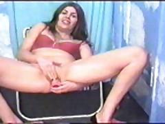 Brunette porn TV