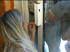 Blonde wife ganbanged