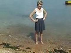 sara-24 on the beach
