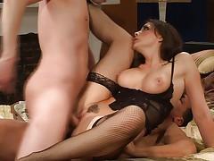 Chanel Preston double penetration