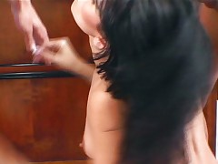 Latin pussy fucked intensely