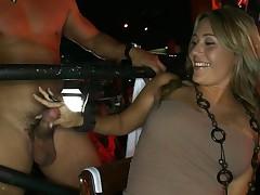 Stripper gets some dickmassage