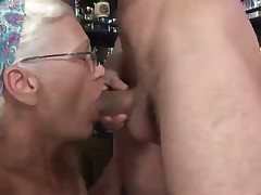 Dirty Old Mature Tramp Works Her 5000th Penis