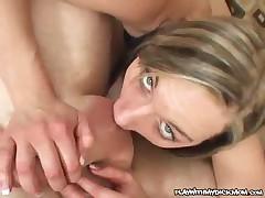 Stella Sparxxx - Hot MILF Gives A Tight Blowjob