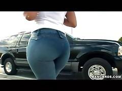 Emma - Ass Parade - Finding Ass In Public