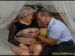 This Nasty Old Mom Still Knows How To Make A Cock Happy, Ending With Cum In Mouth!