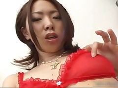 Ringo Akai - Ringo Akai Asian Babe Having Fun With Her Tits And Pussy By Hdidols