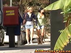 Kenzie Marie And Cali Winters And Ciera Sage - Lesbian Teen Hunter