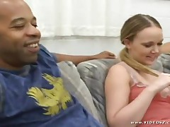 Amber Peach - Her First Big Cock #5 - Scene 2