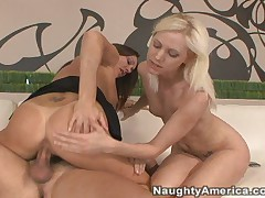 Kacey Villainess And Michelle Lay And Ram - My First Sex Teacher