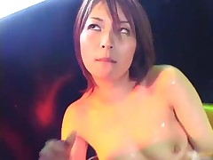 Minami Mizuhara - Hot Milf Minami Mizuhara Gets Cum All Over Her Boobs 2 By Slurpjapanese