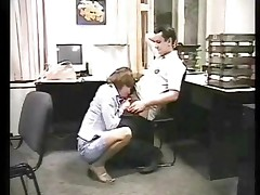 Sex in a russian office