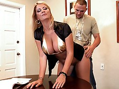 I fucked my boss hard from behind