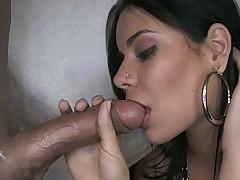 Beautiful girl sucking and taking facial cusmhot