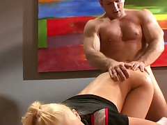 Super Sexy Kagney Lynn Carter Is Taken From Behind
