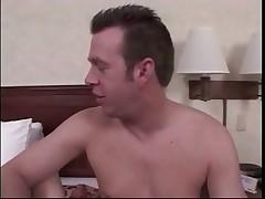 Erotic Brunette Loves Creamy Foot Cumshot