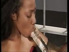 Ebony Lesbian Muffdive