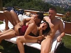 Adrienne Klass two cocks