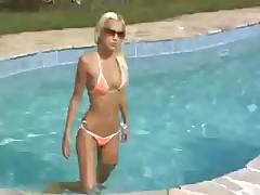 First casting of a hungarian skinny girl Boroka Balls