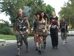 Punk Rock Chick Gets Tag Teamed