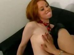 Red Head Teen With Her Teacher