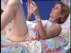 French mature Agnes  taint gyno