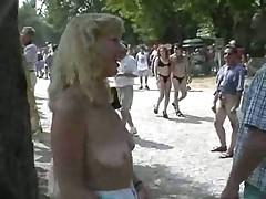 Nudist rally